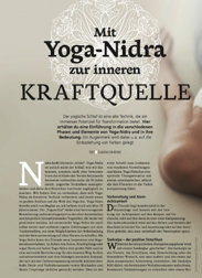 yoga nidra in yoga aktuell