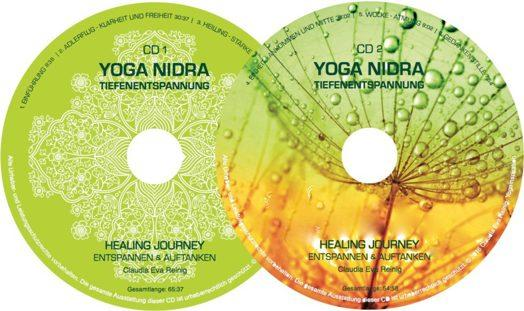 yoga nidra cd label